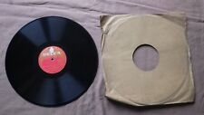 Record 78 RPM Decca MU 60421 LOUIS ARMSTRONG Blueberry Hill / That Lucky Old Sun