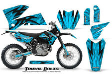 CREATORX GRAPHICS KIT FOR KTM 05-07 EXC/XC 05-06 SX TRIBAL BOLTS BLINP
