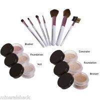Mineralshack natural mineral makeup Matte13 piece set full cover face foundation