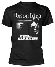 Poison Idea 'Feel The Darkness' (Black) T-Shirt - NEW & OFFICIAL!