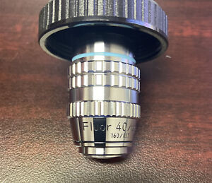 Nikon Fluor 40/1.30 oil 160/0.17 microscope objective