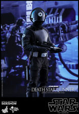 "Hot Toys Death Star Gunner Star Wars 4 A New Hope 1/6 Scale 12"" Figure In Stock"