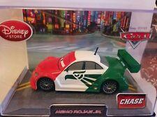 CARS 2 Disney Pixar MEMO ROJAS JR 1:43 ACRYLIC PLASTIC COLLECTOR CASE CHASE HARD