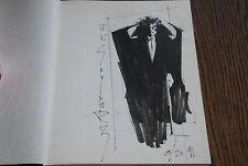 John K. Snyder * Mister E. Marker Sketchbook Sketch Original Comic Book Art 1991