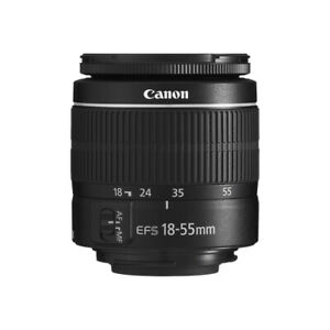 Canon EF-S 18-55mm f/3.5-5.6 III Standard Zoom Lens