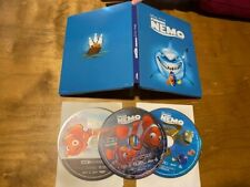 Finding Nemo 4K Ultra Hd/Blu ray*Disney*Steelbook*3 Disc*Best Buy Exclusive*