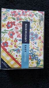 Sheridan Easy Living- Lenni QUEEN Bed Quilt Cover & Pillow Set fully reversible