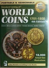 Krause DVD CD Standard Catalog WORLD COINS 1701 - 1800 4th Edt. perfect cond.