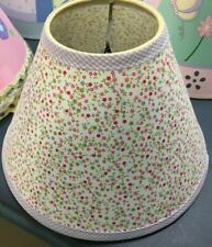 Nojo Flower Patch Lamp Shade Pink Red Purple flowers Baby Nursery Girls Room