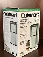 Cuisinart DCG-12BC Coffee Grinder - Stainless Steel Brand New In Box! Free S/H!