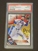 2016 Topps Variation Michael Conforto Catching PSA 10 True RC Rookie On Fire!!!