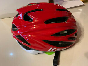 BRAND NEW - Kask Rapido Road Cycling Helmet - Red 59-62cm Large MUST GO