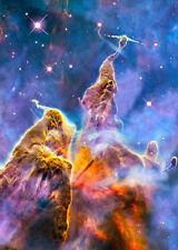 Carina Nebula - 3D Action Lenticular Postcar Greeting Card