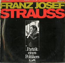 """Franz Josef STRAUSS"" Porträt 1968 (Album-photos + 1 LP 33 tours allemand) NM"