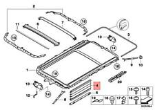 For BMW Genuine Sunroof Cover 54137075903