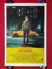 TAXI DRIVER *1976 ORIGINAL MOVIE POSTER 1SH ROLLED MARTIN SCORSESE ROBERT DENIRO