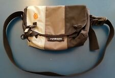 Timbuk2 Gray Charcoal Black Tri Color Custom Messenger Bag Backpack Medium EUC