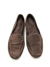 Aerosoles Ivory Tree Women's Brown Suede Slip On Loafers Flats US Size 9 M