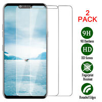 For LG G8 ThinQ Tempered Glass Screen Protector Clear 9H HD Film Cover [2 Pack]