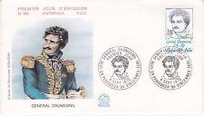 Enveloppe 1er jour FDC n°980 - 1976 : Général Daumesnil