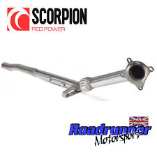 Scorpion De-cat Downpipe Golf R MK6 Exhaust Stainless Removes Catalyst SVWC038