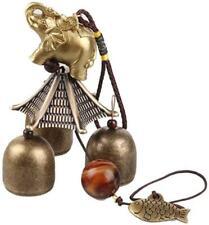 New listing Elephant Wind Chimes Classical Metal Bronze Bells