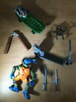 Teenage Mutant Ninja Turtles Lot A - TMNT - Assorted pieces and accessories
