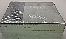 HP 8568B Spectrum Analyzer Performance Tests & Adjustments Manual 08568-90118