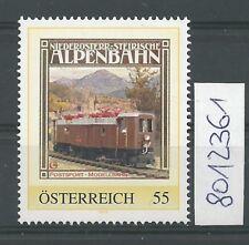 """Österreich PM personalisierte Marke Eisenbahn """"Alpenbahn 2""""  **"""