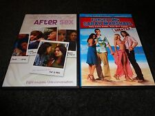 AFTER SEX & FORGETTING SARAH MARSHALL-2 dvds-MILA KUNIS,KRISTEN BELL-Comedies