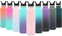 Simple Modern Ascent Water Bottle with Straw Lid - Vacuum Insulated Kid's Cup