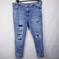 American Eagle Super Hi Rise Jegging Jeans Womens Plus Size 22 Super Stretch