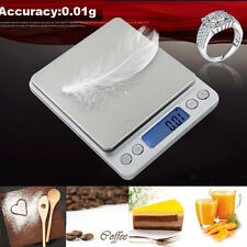 500g/0.01g High Precision Weight Digital Pocket Electronic Balance Jewelry Scale