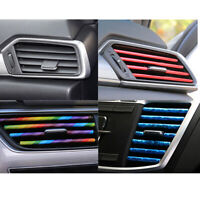 10 / set /1 color Auto Accessories Air Conditioner Air Outlet Decoration Strip