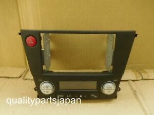 Subaru Legacy Outback BL5 BP5 Double DIN Dual Audio Panel Fascia BLACK