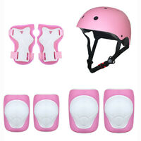 Child's Sports Elbow Wrist Pads and Safety Helmet/Children Knee Protective Gear