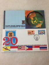 (JC) 20th Anniversary of ASEAN 1987 -  FDC (B)