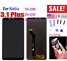 """USA 6.0"""" For Nokia 3.1 Plus 3.1+ LCD Display Touch Screen Assembly Replacement Q"""