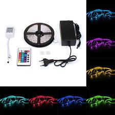 5m RGB SMD 5050 LED LEISTE LEUCHTE SCHLAUCH STRIP BAND STREIFEN LICHTKETTE