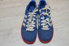 Adidas Neo Boys Blue Trainers Shoes UK Size 3  EUR 35.5