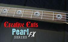 Blink 182 Mark Hoppus Custom BLACK PEARL & MOP Fret Marker Stickers for ANY BASS