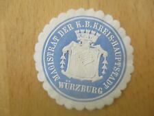 (32962) Siegelmarke - Magistrat Würzburg