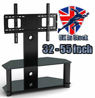 "Panana Glass TV Stand with Bracket for  Plasma LCD TV 32"" to 60"" inch"