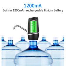 USB Water Bottle Pump Dispenser Automatic 5 Gallon Universal Electric Switch