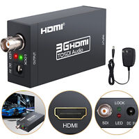 NEW HDMI to SDI HD Audio Video Converter HDMI to SDI/HD-SDI/3G-SDI Adapter 1080P