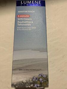 2 Pack Lumene Sensitive Touch SOS Cream 1.7 FL OZ Skin Calming Vitamin B5