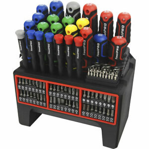 ToolPRO Screwdriver Set - 114 Piece