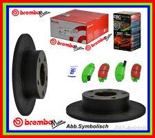 2 x Brembo Max SPORT Scheiben + EBC Green Belägesatz HA HONDA CIVIC CR X II III