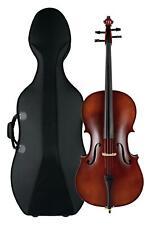 B-WARE Cello Set 4/4 Violoncello Koffer Bogen Fichte Ahorn Anfänger Case Trolley