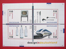 Block  50 ** ,BRD 1999, Nr. 2068-71, Design